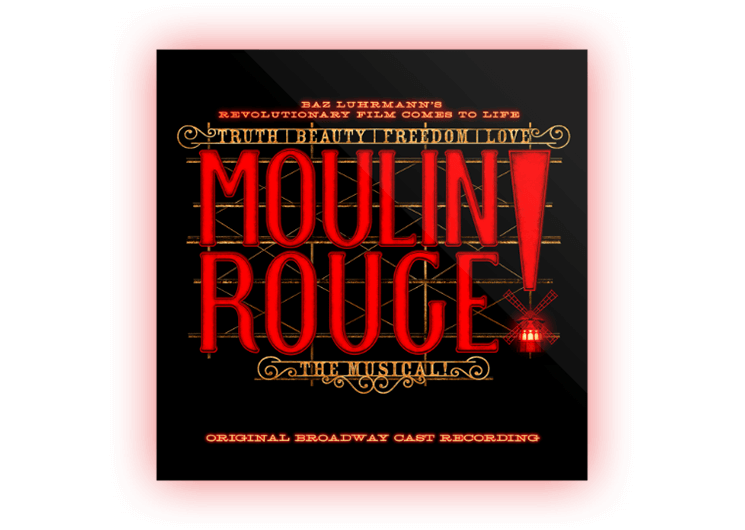 Moulin Rouge! CD Cover